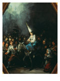 A Woman Condemned by the Inquisition Giclee Print by Eugenio Lucas y Padilla
