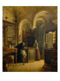 Interior of the Pharmacy of San Giovanni Giclee Print by Luigi Marchesi
