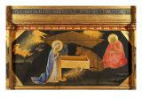 Polyptych, Predella, Nativity Giclee Print by Andrea Di Gusto