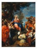 Jesus Among the Children Giclee Print by Giuseppe Bartolomeo Chiari