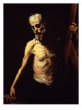Saint Andrew the Apostle Giclee Print by Jusepe de Ribera