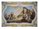 Judgment of Solomon Giclee Print by Giambattista Tiepolo