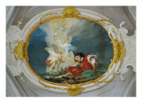 Jacob and the Vision of the Heavenly Ladder Giclee Print by Giambattista Tiepolo