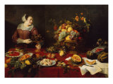 The Fruit Seller Giclee Print by Frans Snyders