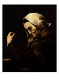 The Old Usurer Giclee Print by Jusepe de Ribera