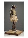 Petite danseuse de 14 ans ou Grande danseuse habillée Giclée-tryk af Edgar Degas