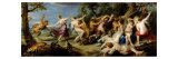 Diana and Nymphs with Fauns Giclee Print by Peter Paul Rubens