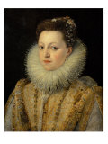 Portrait of Maria D'Aviz of Portugal Giclee Print by Frans Pourbus II