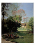 The Garden of Alfred Stevens Giclee Print by Alfred De Knyff