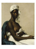 Portrait of a Black Woman, 1800 Giclee Print by Marie Guilhelmine Benoist