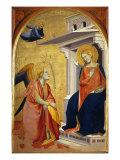 Annunciation Giclee Print by Taddeo Gaddi