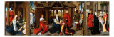 Triptych Giclee Print by Hans Memling