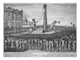 The Execution of Louis XVI, January 21 1793 Giclee Print