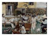 The Terrasse Family, 1900 Reproduction procédé giclée par Pierre Bonnard
