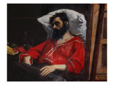 The Convalescent Giclee Print by Charles Émile Carolus-Duran