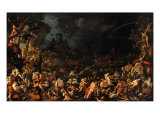 The Flood Giclee Print by Jan van Scorel