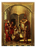 Tomb of Saint Peter Martyr Giclee Print by Pedro Berruguete