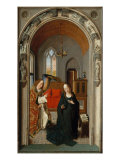 Polyptych of the Childhood of Christ, Panel with Annunciation Giclee Print by Dieric Bouts
