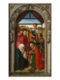 Polyptych of the Childhood of Christ, Panel with the Adoration of the Magi Giclee Print by Dieric Bouts