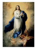 Escorial Immaculate Conception Giclee Print by Bartolome Esteban Murillo