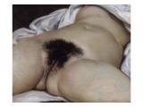 Gustave Courbet - L'Origine du monde Digitálně vytištěná reprodukce