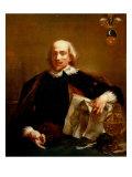 Portrait of Count Gasparo Campo Giclee Print by Giovanni Battista Piazzetta
