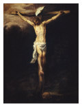 Christ Crucified Giclee Print by Bartolome Esteban Murillo