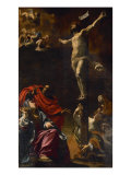 The Crucifixion, 1621-22 Giclée-Druck von Simon Vouet