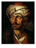 Portrait of an Oriental Giclee Print by Théodore Géricault