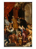 Saint Ignatius Freeing a Woman from Possession, 1620 Giclee Print by Peter Paul Rubens