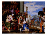 Martyrdom of St. Justina Giclee Print by Paolo Veronese