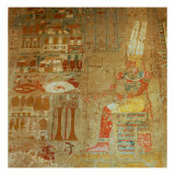 Temple of Hatshepsut (detail) Giclee Print