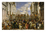The Wedding at Cana Giclée-Druck von Paolo Veronese