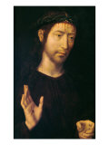 Christ Giving His Blessing or Ecce Homo Giclee Print by Hans Memling
