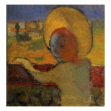At the Train Window Giclee Print by Maurice Denis