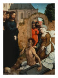 Raising of Lazarus Giclee Print by Juan de Flandes