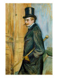 Portrait of Louis Pascal Lámina giclée por Henri de Toulouse-Lautrec