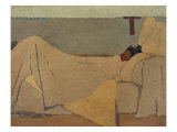 Im Bett  En la Cama Gicl&#233;e-Druck von Edouard Vuillard