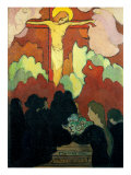 Offering at Calvary Giclee Print by Maurice Denis
