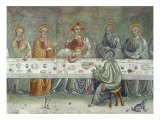 Last Supper, Central Part Giclée-tryk af Stefano Di Antonio Vanni
