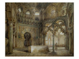 Interior of the Mosque of Cordoba Giclee Print by Thienon Louis Desire