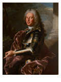 Portrait of Giovanni Francesco II Brignole Sale, Duke of Genoa 1746-1748 Giclee Print by Hyacinthe Rigaud