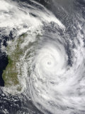 Tropical Cyclone Gael off Madagascar, Photographic Print