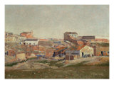 Environs of Madrid Giclee Print by Aureliano De Beruete
