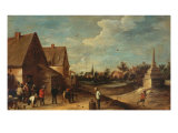 The Game of Bowls Giclee Print by David Teniers the Younger