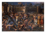 Storming of Prevesa Reproduction proc&#233;d&#233; gicl&#233;e par Jacopo da Empoli 