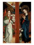 Annunciation Giclee Print by Martin Schongauer