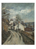 Doctor Gachet's House at Auvers Giclee Print by Paul Cézanne