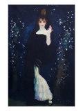 Sony De Klamery Countess of Pradera Giclee Print by Herman Anglada Camarasa