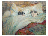 In Bed Giclee Print by Henri de Toulouse-Lautrec